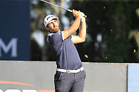 Matthieu Pavon (FRA) tees off the 6th tee during Saturday's Round 3 of the 2018 Turkish Airlines Open hosted by Regnum Carya Golf &amp; Spa Resort, Antalya, Turkey. 3rd November 2018.<br /> Picture: Eoin Clarke | Golffile<br /> <br /> <br /> All photos usage must carry mandatory copyright credit (&copy; Golffile | Eoin Clarke)