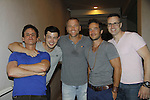 Christian LeBlanc, Christopher Sean, Sean Carrigan, Ryan, Carnes, John Driscoll - Karoake and Bartending at La Tavola Restaurant and Bar where Actors from Y&R, General Hospital and Days donated their time to Southwest Florida 16th Annual SOAPFEST - a celebrity weekend May 22 thru May 25, 2015 benefitting the Arts for Kids and children with special needs and ITC - Island Theatre Co. on May 24, 2015. (Photos by Sue Coflin/Max Photos)