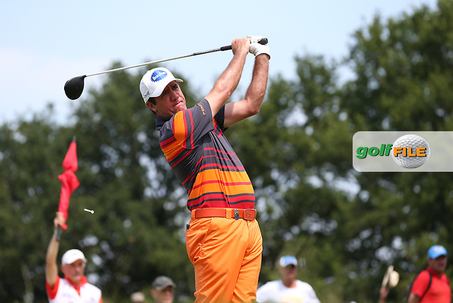 Scott Hend (AUS) during Round Three of the 2015 Alstom Open de France, played at Le Golf National, Saint-Quentin-En-Yvelines, Paris, France. /04/07/2015/. Picture: Golffile | David Lloyd<br /> <br /> All photos usage must carry mandatory copyright credit (&copy; Golffile | David Lloyd)
