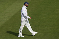 Murali Vijay of Essex leaves the field during Nottinghamshire CCC vs Essex CCC, Specsavers County Championship Division 1 Cricket at Trent Bridge on 12th September 2018