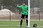 12 January 2016: Sven Lissek (GER) (Furman). The adidas 2016 MLS Player Combine was held on the cricket oval at Central Broward Regional Park in Lauderhill, Florida.