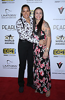 03 July 2019 - Las Vegas, NV - Amanda Nunes, Nina Ansaroff. 11th Annual Fighters Only World MMA Awards Arrivals at Palms Casino Resort. <br /> CAP/ADM/MJT<br /> © MJT/ADM/Capital Pictures
