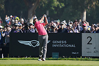 Adam Scott (AUS) In action during the final round of the The Genesis Invitational, Riviera Country Club, Pacific Palisades, Los Angeles, USA. 15/02/2020<br /> Picture: Golffile | Phil Inglis<br /> <br /> <br /> All photo usage must carry mandatory copyright credit (© Golffile | Phil Inglis)