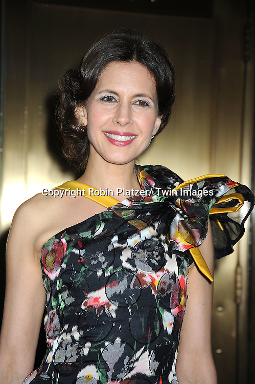 Jessica Hecht arriving at The 61st Annual Tony Awards on June 13, 2010 at Radio City Music Hall in New York City.