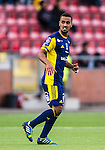 S&ouml;dert&auml;lje 2014-05-31 Fotboll Superettan Syrianska FC - &Auml;ngelholms FF :  <br /> &Auml;ngelholms Junes Barny <br /> (Foto: Kenta J&ouml;nsson) Nyckelord:  Syrianska SFC S&ouml;dert&auml;lje Fotbollsarena &Auml;ngelholm &Auml;FF portr&auml;tt portrait