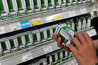Philips energy saving bulbs are sold in a Carrefour supermarket in Kunming, China. Carrefour plans to open 28 new stores in China this year and the company predicts sales to increase more than 15 percent. Carrefour currently operates more than 130 stores in China. Last year, the retailer opened 22 new stores in the country.