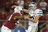Stanford, Ca - September 2, 2016: The Stanford Cardinal opens the 2016 season with a 26-13 win over the Kansas State Wildcats at Stanford Stadium.