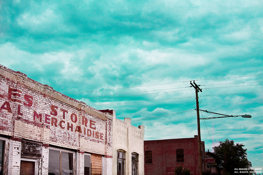 Vaugn New Mexico, an abandoned downtown out West.