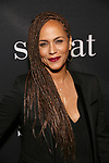 "Ari Nicole Parker attends the Broadway Production of  ""Sweat"" at studio 54 Theatre on March 26, 2017 in New York City"