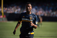 BRONX, NY - Saturday August 20, 2016: New York City FC defeats the Los Angeles Galaxy 1-0 at home at Yankee Stadium in regular season MLS play.