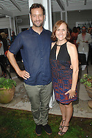 Fritz Chesnut, Molly Shannon==<br /> LAXART 5th Annual Garden Party Presented by Tory Burch==<br /> Private Residence, Beverly Hills, CA==<br /> August 3, 2014==<br /> ©LAXART==<br /> Photo: DAVID CROTTY/Laxart.com==