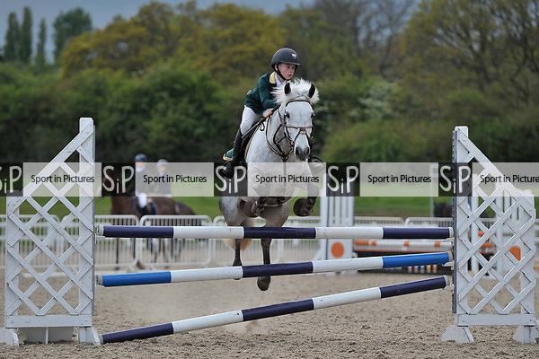 Class 3. Newcomers. British Showjumping juniors. Brook Farm Training Centre. Essex. 20/04/2017. MANDATORY Credit Garry Bowden/Sportinpictures - NO UNAUTHORISED USE - 07837 394578