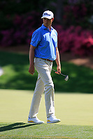 Patton Kizzire (USA) on the 13th green during the 1st round at the The Masters , Augusta National, Augusta, Georgia, USA. 11/04/2019.<br /> Picture Fran Caffrey / Golffile.ie<br /> <br /> All photo usage must carry mandatory copyright credit (&copy; Golffile | Fran Caffrey)