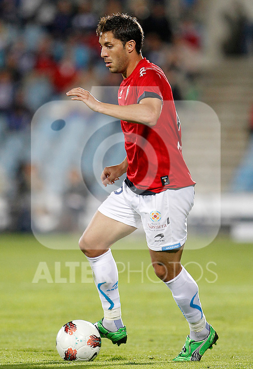 Osasuna's Alvaro Cejudo during La Liga match.October 26,2011. (ALTERPHOTOS/Acero)