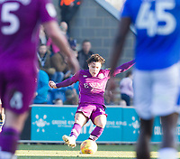 Callum O'Hare of Carlisle United crosses in the first half during Colchester United vs Carlisle United, Sky Bet EFL League 2 Football at the JobServe Community Stadium on 23rd February 2019