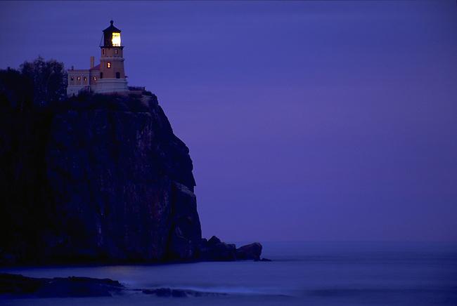 Split Rock Lighthouse on Lake Superior in Minnesota.