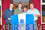 David Cunningham, Brian Hayes Mike Conway and Tony Everett supporters of Everton FC at the launch of their supporters club at Stokers Lodge on Wednesday evening...   Copyright Kerry's Eye 2008