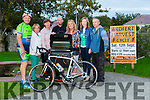 Further to their Launch of Ardfert Harvest Cycle recently on Thursday evening at Ardfert NS the committee Launched their Bar B Cue for September 12st at Ardfert NS, were  Anita Boulenham,Tony O'Halloran,Darren Thibeaud,Anne Kearney,Betty Stack,Marie Connell and Brian O'Connor.