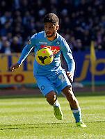 Lorenzo Insigne durante l'incontro di calcio di Serie A  Napoli Sampdoria allo  Stadio San Paolo  di Napoli , 6 gennaio 2014