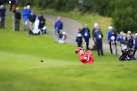 Ally McDonald Team USA on the 7th during Day 1 Fourball at the Solheim Cup 2019, Gleneagles Golf CLub, Auchterarder, Perthshire, Scotland. 13/09/2019.<br /> Picture Thos Caffrey / Golffile.ie<br /> <br /> All photo usage must carry mandatory copyright credit (© Golffile | Thos Caffrey)