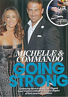 Michelle Bridges story in Who Magazine