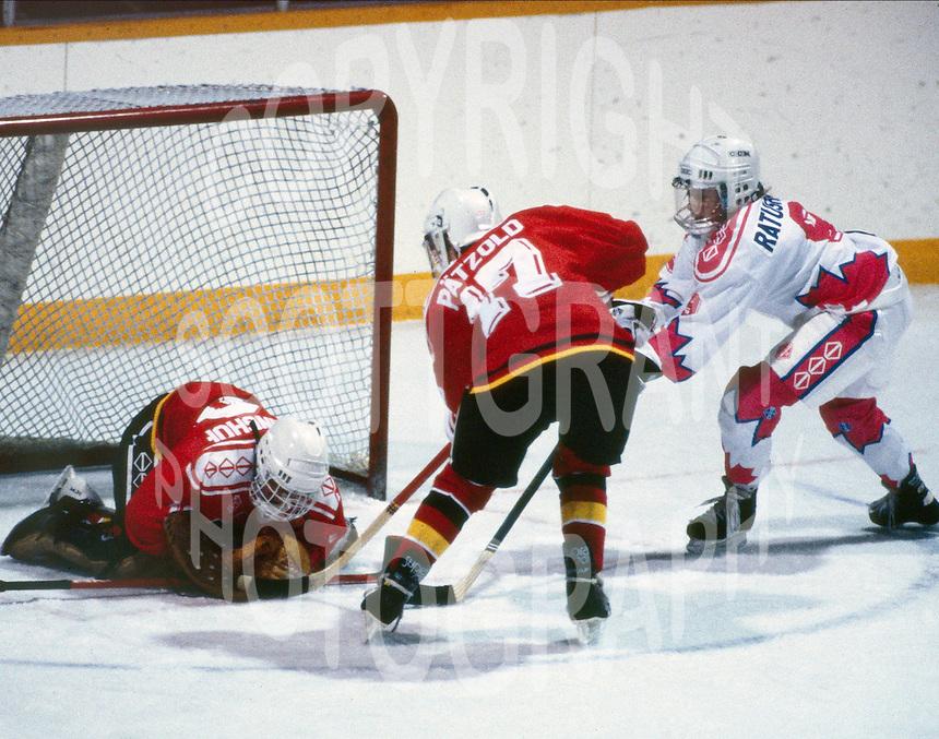 Kim Ratushny Team Canada 1990. Photo copyright F. Scott Grant