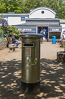 Royaume-Uni, îles Anglo-Normandes, île de Sark (Sercq) : Le bureau de poste // United Kingdom, Channel Islands, Sark Island (Sercq)  The Post Office