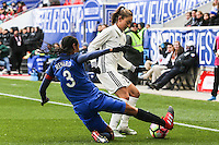 HARRISON, NJ, 04.03.2017 - FRANÇA-ALEMANHA - Wendie Renard jogadora da França durante partida contra a Alemanha valido pelo 2017 She Believes Cup na cidade de Harrison em New Jersey neste sábado, 4. (Foto: Vanessa Carvalho/Brazil Photo Press/Brazil Photo Press)