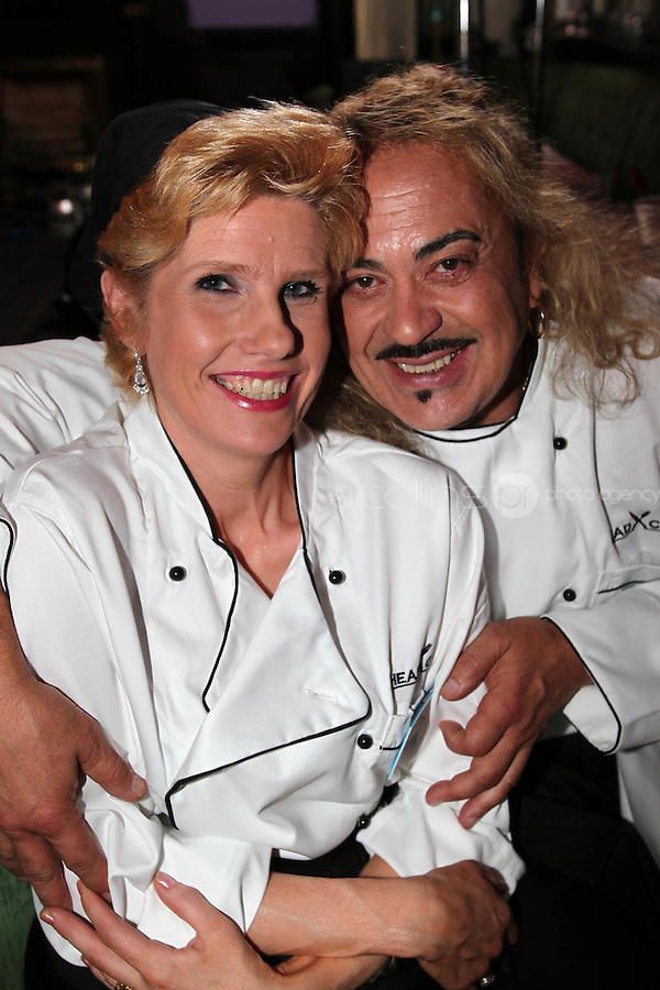 21/06/'11 Contestants, Mary Burke and  Wagner  participating in  TV3's Celebrity Head Chef series pictured in his  'Dining Room' Restaurant...NO REPRODUCTION FEE PIC...Picture Colin Keegan, Collins, Dublin.