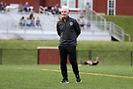 CHARLOTTE, NC - MARCH 25: Courage head coach Paul Riley (ENG). The NWSL's North Carolina Courage played their first preseason game against the University of Tennessee Volunteers on March 25, 2017, at Queens University of Charlotte Sports Complex in Charlotte, NC. The Courage won the match 3-0.