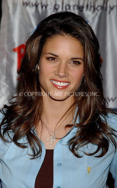 WWW.ACEPIXS.COM . . . . . ....NEW YORK, APRIL 20, 2006....Missy Peregrym at the Promotion Event for Upcoming film 'Stick It' held at the Planet Hollywood Times Square.....Please byline: KRISTIN CALLAHAN - ACEPIXS.COM.. . . . . . ..Ace Pictures, Inc:  ..(212) 243-8787 or (646) 679 0430..e-mail: picturedesk@acepixs.com..web: http://www.acepixs.com