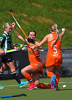 Action from the 2017 National Hockey League Women's final between Bayleys Midlands and Mark Cromie Holden Northland at National Hockey Stadium in Wellington, New Zealand on Sunday, 24 September 2017. Photo: Dave Lintott / lintottphoto.co.nz