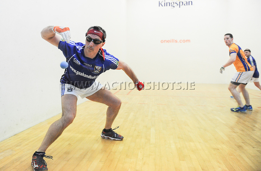 07/04/2018; GAA Handball O&rsquo;Neills 40x20 Championship Mens Senior Final - Cavan (Paul Brady/Michael Finnegan v Clare (Diarmuid Nash/Colin Crehan); Kingscourt, Co Cavan;<br /> Paul Brady<br /> Photo Credit: actionshots.ie/Tommy Grealy