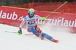 10.03.2018, Ofterschwanger Horn, Ofterschwang, GER, Slalom Weltcup in Ofterschwang, im Bild Carole Bissig (SUI, #48)<br /> <br /> Foto &copy; nordphoto / Hafner