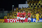 Kashiwa Reysol vs Guangzhou Evergrande during the 2015 AFC Champions League Quarter Final 1st leg match on August 25, 2015 at the Hitachi Kashiwa Stadium in Kashiwa, Japan. Photo by Kenta Harada / World Sport Group