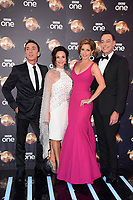 "Bruno Tonioli, Shirley Ballas, Dame Darcey Bussell and Craig Revel Horwood<br /> at the launch of ""Strictly Come Dancing"" 2018, BBC Broadcasting House, London<br /> <br /> ©Ash Knotek  D3426  27/08/2018"