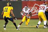 San Francisco, CA - October 13, 2011: USC tailback Marc Tyler (26). Cal Bears vs USC at AT&T Park in San Francisco, California. Final score Cal Bears 9, USC 30.