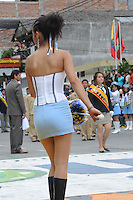 Parade in Banos, Ecuador