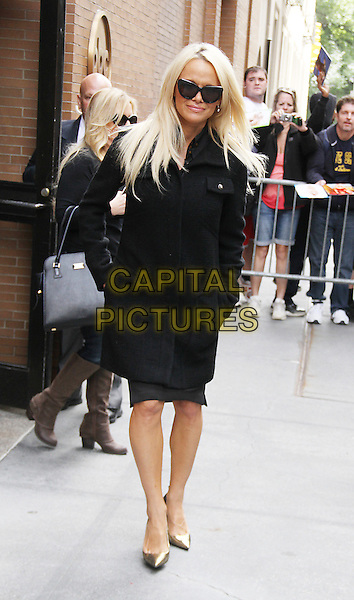 NEW YORK, NY - SEPTEMBER 21: Pamela Anderson at The View promoting her new book Raw in New York City on September 21, 2015. <br /> CAP/MPI/RW<br /> &copy;RW/MPI/Capital Pictures