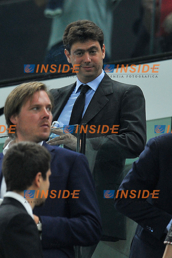 "Andrea AGNELLI (Juventus).Torino 2/10/2011 Stadio ""Juventus Stadium"".Serie A 2011/2012.Football Calcio JUventus Vs Milan.Foto Insidefoto Alessandro Sabattini."