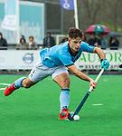 ALMERE - Hockey - Hoofdklasse competitie heren. ALMERE-HGC (0-1) . Tristan Algera (HGC)   COPYRIGHT KOEN SUYK
