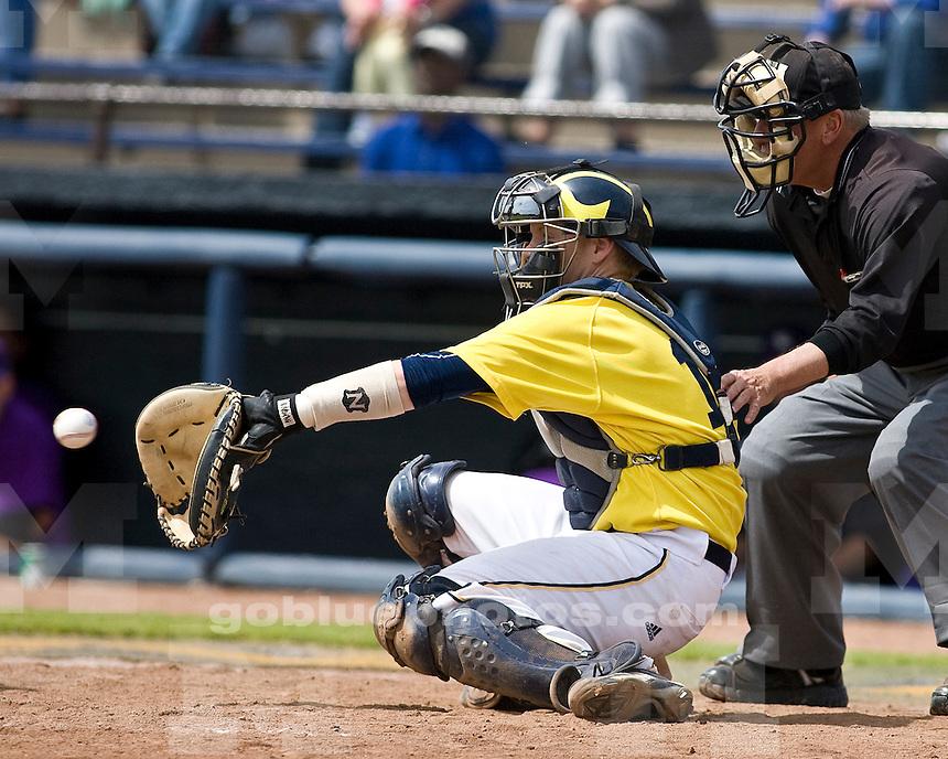 University of Michigan Baseball 15-14 win over Northwestern at the Wilpon Baseball Complex on 5/16/2010.