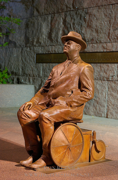 Prologue, Franklin Delano Roosevelt Wheelchair Sculpture, Robert Graham 2001, FDR Memorial, Washington DC