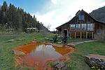 DUNTON HOT SPRINGS, CO:  A general view of Dunton Hot Springs in Colorado. (Photo by Donald Miralle for Conde Nast Travler)