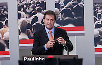 ATENCAO EDITOR FOTO EMBARGADA PARA VEICULO INTERNACIONAL - SAO PAULO, SP , 24 DE SETEMBRO 2012 - DEBATE TV GAZETA - O candidato a prefeitura da cidade de Sao Paulo, Paulinho da Força  durante debate do primeiro turno da tv Gazeta na noite desta segunda-feira, 24 na sede da tv na avenida Paulista. FOTO: VANESSA CARVALHO / BRAZIL PHOTO PRESS.