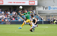 Millwall's Ryan Leonard and Preston North End's Alan Browne<br /> <br /> Photographer Rob Newell/CameraSport<br /> <br /> The EFL Sky Bet Championship - Millwall v Preston North End - Saturday 3rd August 2019 - The Den - London<br /> <br /> World Copyright © 2019 CameraSport. All rights reserved. 43 Linden Ave. Countesthorpe. Leicester. England. LE8 5PG - Tel: +44 (0) 116 277 4147 - admin@camerasport.com - www.camerasport.com