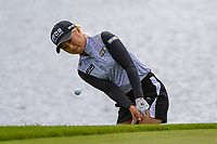 Jeongeun6 Lee (KOR) chips on to 8 during the round 3 of the KPMG Women's PGA Championship, Hazeltine National, Chaska, Minnesota, USA. 6/22/2019.<br /> Picture: Golffile | Ken Murray<br /> <br /> <br /> All photo usage must carry mandatory copyright credit (© Golffile | Ken Murray)