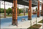 Il nuovo Parco Dora. Nell'area delle acciaierie Vitali nasce il nuovo parco della Spina tre.