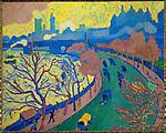 Author: Andre Derain (1880-1954)<br /> Description: Charing Cross Bridge, London. Oil on canvas (1906) RF 1973-16.