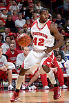 MADISON, WI - OCTOBER 24: Forward Alando Tucker #42 of the Wisconsin Badgers handles the ball during the red/white scrimmage at the Kohl Center on October 24, 2006 in Madison, Wisconsin. The White team defeated the Red team 72-69. (Photo by David Stluka)